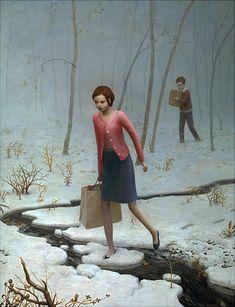 artist painter painting aron wiesenfeld