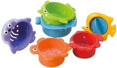 Babysun PG2390 - Set de juguetes para el baño