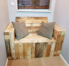 pallet couch seat