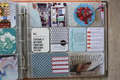 simple layout: 4x6 photos + journaling