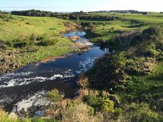 Hopkins River Allansford near Warrnambool and right next to the widest falls in Victoria Australia. Not the most spectacular by some accounts but I loved it. If you look long enough you might see some signs of local wildlife in and around the rocks just beyond the falls. Although my photo of the falls was sub-par thus the pic of the river that Hopkins Falls flows into instead. Peaceful. Well I hope it's been a good start to the week for you. If you need a short break this is a great place…