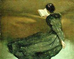 John White Alexander (American painter, 1856-1915) Repose 1895