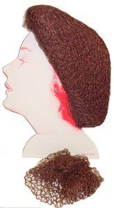 On The Head Net * Brown * Each by On The Head. $1.29. Great for Food Server Hair Net. Great to secure Hair Setting Rollers or as a Sleep Net. 1 Net * Color: Brown. Made of Rayon. Extra Heavy Rayon Net with Elastic Hair Line Band. * Extra Heavy Rayon Net with Elastic Hair Line Band * Made of Rayon* Great to secure Hair Setting Rollers or as a Sleep Net* Great for Food Server Hair Net* Color: Brown* 1 Net