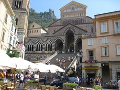 Amafi Coast in Italy