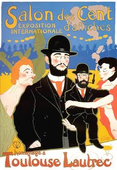Henru deToulouse Lautrec  founder poster art