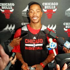 D Rose's #Bulls are back in action. Can't wait for the first game of the season!