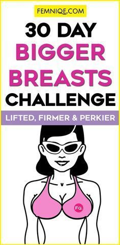 30 Day Bigger Breasts Challenge (Firm & Perky) - Want to get bigger, firmer and perkier breasts? This is the ultimate breast workout challenge.