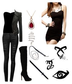 """TMI: Isabelle Lightwood"" by pageinabook ❤ liked on Polyvore featuring Lipsy, Doublju, Effy Jewelry, Whetstone Cutlery, women's clothing, women, female, woman, misses and juniors"