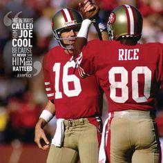 joe and jerry - 49ers legends