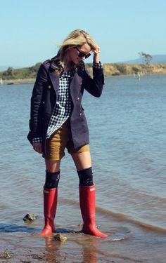 Inspiration - Hunter Boots