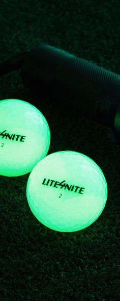 4c6cab7f0b UV-activated golf balls glow in the dark to let you squeeze in one more