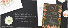 Custom Wedding Invitations & Stationery | Smitten on Paper