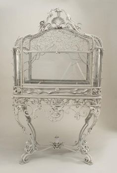 antique birdcage/planter