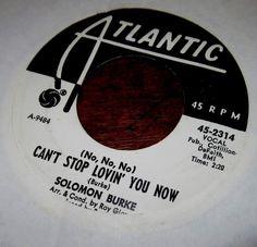 BABY COME ON HOME // SOLOMON BURKE ATLANTIC PROMO 45 SINGLE 2314 #ClassicRB