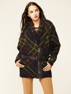 Plaid Cocoon Jacket by L.A.M.B. on Gilt.com