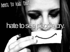 I hate it❤️ But I can't help and let my self cry and then hate my self for that