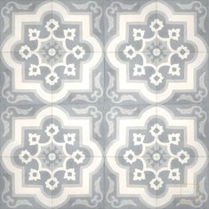 Waterlily C14-33-24 - moroccan cement tile