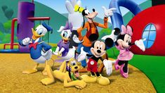Disney Jr TV Trivia Try and guess the Disney Jr TV show theme songs. Try and guess what popular Disney Jr show goes along with each song. Disney Junior, Disney Jr, Disney Films, Mickey Minnie Mouse, Mickey Mouse E Amigos, Mickey Party, Mickey Mouse And Friends, Mickey Mouse Clubhouse Episodes, Disney Mickey Mouse Clubhouse