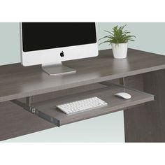 Boardwalk Keyboard Shelf   National Business Furniture #modernoffice #modern #moderndesign