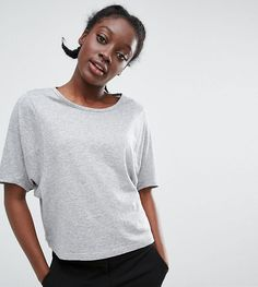 Get this Monki's crop top now! Click for more details. Worldwide shipping. Monki Balloon Sleeve Top - Grey: Top by Monki, Soft-touch cotton jersey, Round neckline, Oversized sleeves, Regular fit - true to size, Machine wash, 90% Cotton, 10% Viscose, Our model wears a UK XS/EU 34/US 4. If you�re all for personality and expression then Monki is the one for you. Known for its street-style-meets-Scandi-chic design and super-fun story-based store concepts, Monki grabs bold, brash colours and a…
