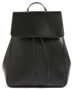 Sole Society Ivan Faux Leather Backpack - Black #handbags