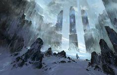 Snow Gates by Nele-Diel.deviantart.com on @DeviantArt