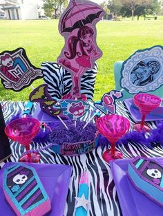 Monster High Birthday Party Ideas   Photo 2 of 25   Catch My Party