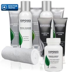 Exposed Skin Care Ultimate Acne Treatment Kit Includes All Our Products in one Treatment Kit -- Read more reviews of the product by visiting the link on the image.