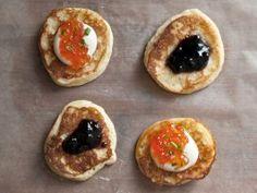 Russian Quick Buttermilk Oladyi (Buttermilk Pancakes) from CookingChannelTV.com