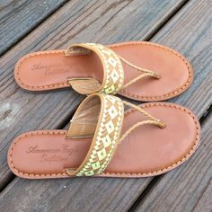 American Eagle Outfitters Shoes - American eagle leather sandals