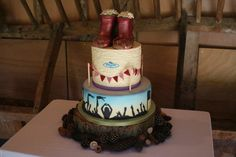 Festival Wedding Cake - Cake by SoSweet