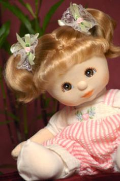 """My Child Doll Collection 80s produced doll.  This was one of my favorites, one of the last dolls I loved on before putting my """"babies"""" up on a shelf. :)"""