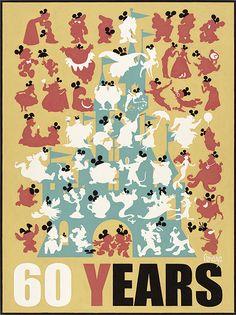 D23 Expo 2015 Disney Art, Disney Pixar, Walt Disney, Disney Posters, Disney Cartoons, Disneyland World, Talking Animals, Disney Home Decor, Park Art