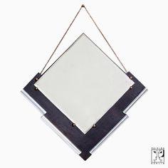 Original De Stijl wall mirror from the Netherlands, 1928 - 480 €