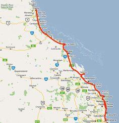 Road Tripping: Brisbane to Cairns (Australia)