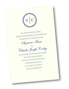Create Your Own Wedding Invitation Suite 37