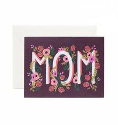 ROSY BLOOMS MOM'S CARD - RIFLE PAPER