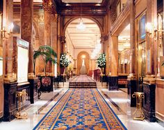 Luxury Hotel in Buenos Aires. The Alvear Palace Hotel is one of the most luxurious hotels around the world. 5 stars hotel in Buenos Aires, Recoleta. Palace Hotel, Hotel Lobby, Montevideo, Chile, Beste Hotels, Best Spa, Argentina Travel, Great Hotel, Hotels And Resorts