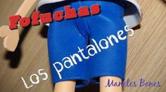 Curso básico de fofuchas:  Los pantalones