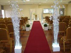 como vc mesmo fazer a decoracao do seu casamento da igreja - Pesquisa Google
