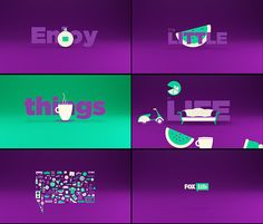 Foxlife Worldwide Tv Branding on Behance
