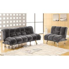 The Furniture of America Marbelle Futon gives you more than you could hope for in a piece of furniture. Las Vegas Furniture Online | LasVegasFurnitureOnline | Lasvegasfurnitureonline.com