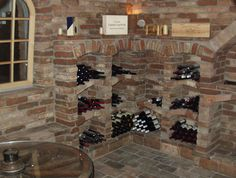 Ziegel- / Gewölbekeller, Weinkeller, Weinlagerung