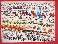 Kindergarten Line Drawings Art is Basic: a blog by an elementary art teacher