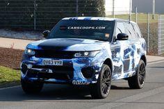 Scoop: Hotter New Range Rover Sport RS memamerkan nya New Outfit - Carscoops