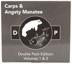 Combines all 300 original cards (245 white cards & 55 black cards) from Carps & Angsty Manatee Volumes 1 & 2.