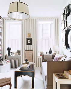 Farrow and Ball Say Stripes interior design 2012 house design designs home design room design House Design, Room, Interior, House Styles, Home Decor, House Interior, Apartment Inspiration, Interior Design, Striped Walls