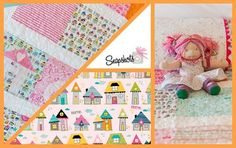 Post Quilt Market Blog Tour: Meet Stephanie from Bella Blvd., creator of the ADORABLE Snapshots Fabric Collection for Riley Blake Designs #rileyblakedesgins #bellablvd #snapshots