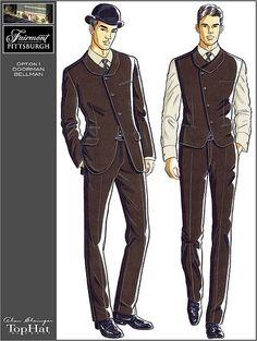 Fairmont uniforms, bellhops