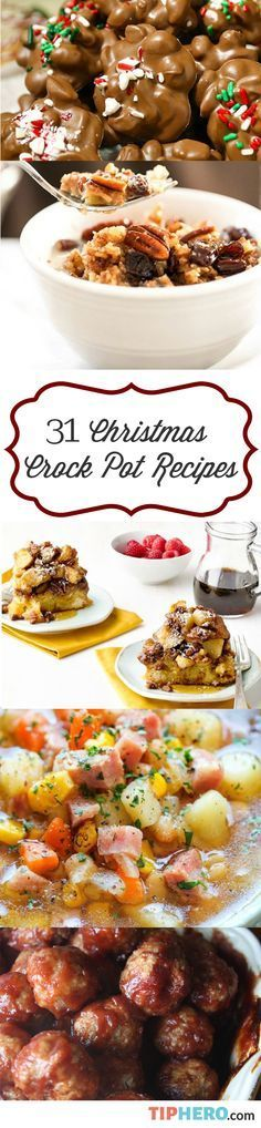 31 Christmas Crock Pot Recipes To Give You Back Your Family Time